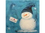 I Love Snow Days - 12x12