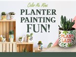 Planter Painting Party - Saturday, March 21st