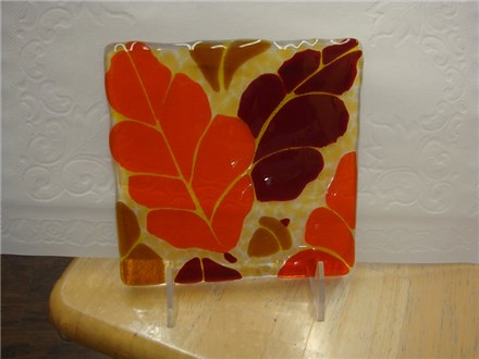 Fall Glass Fusing Class at PAINT YOUR WORLD