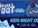 SMALLFOOT KIDS NIGHT OUT