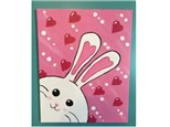 Kids' Canvas Class!  Bunny with Heart!  3/26/16