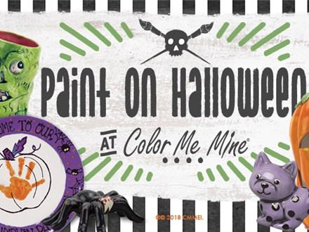 Halloween Paint Night! Oct, 31st