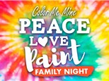 Mar 13th • Peace, Love, Paint Family Night • Color Me Mine Aurora