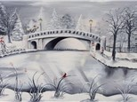 "Canvas Night, ""Peaceful Winter"" January 22nd 7-10"