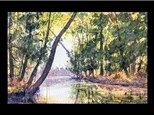 Watercolor: Guest Artist - Bend in the River 09/09