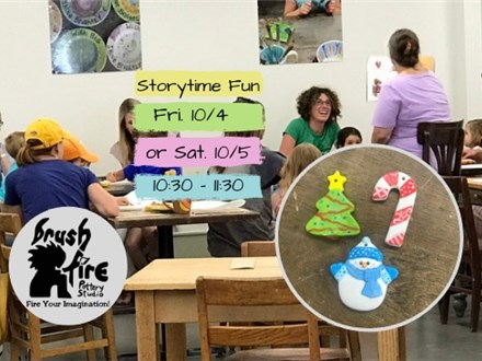 Mommy & Me Storytime - 12/6 & 12/7