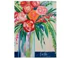 Flower Vase Paint Class