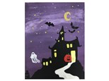 Haunted House Canvas Class - 10/26