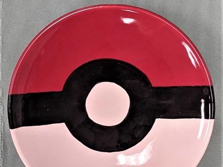 Pokeball Dessert plate