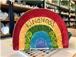Kindness Matters Rainbow Plate! Sept, 11th
