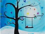 Open to the Public Fundraiser For Alpha Eta Mu - Paint & Sip - Jan 27