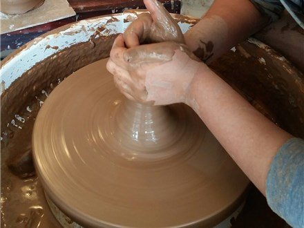 February Vacation Pottery 2017 (morning session)