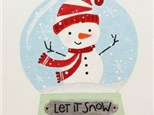Let It Snow Holiday Paint Party