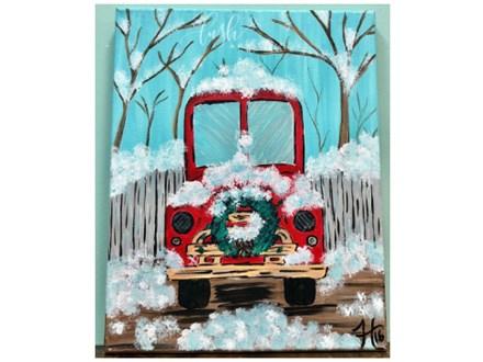 Christmas Truck Paint Class