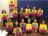 Mini Monet Kids Canvas Party