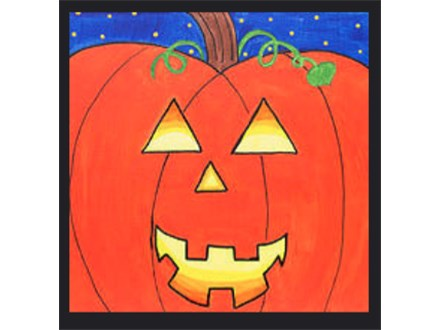 """Kids Night Out Canvas Night! """"Happy Halloween"""" Friday, October 28th 6-8pm"""