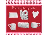 Pottery Painting to go kits