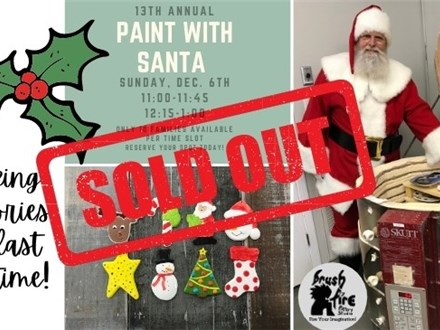 13th Annual Paint with Santa - 12:15-1:00