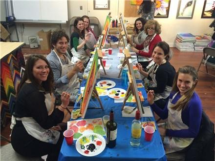Summer Floral Fever Art Class