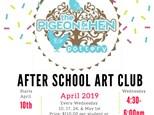 After School Art Club April