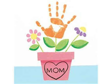 Kid's Canvas - Handprint Flowers - Afternoon Session - 04.26.17
