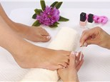 Manicure and Pedicure: Night Light Nail Salon