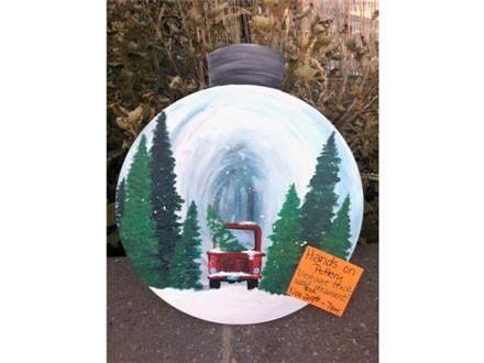 You Had Me at Merlot - Vintage Truck Wood Ornament - Nov. 29th