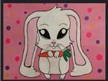 "Kids Night Out Canvas Night! ""Glow Bunny"" Friday, April 7th 6-8pm"