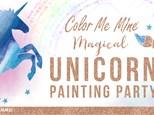 Feb 24th • Unicorn Party • Color Me Mine Littleton