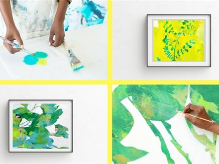 Guest Artist: Botanicals & Blooms