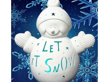 Let it Snow-Man! (please select today's date on calendar shown)