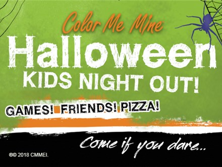 "Kids Night Out - ""Halloween"", Oct.23/20"