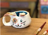 Clay Hand Building - Bunny Mugs - Evening Session - 03.22.18