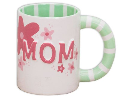 Family Pottery Painting - Mug for Mom! - Morning Session - 05.02.17