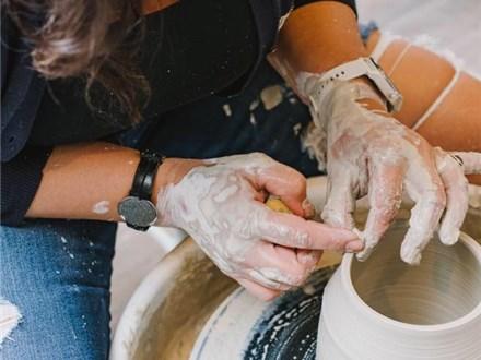 Adult Beginner Pottery Wheel - 6 week - Thursdays 7p - 9p at Clay Haus
