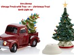 Vintage Truck w Tree OR Christmas Tree IN STUDIO or AT HOME - October 24th