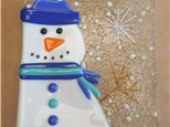 Adult Fused Glass - Glass Snowman - 01.03.17 - Morning Session