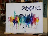 """Canvas Night Thursday, """"NYC"""" March 30th 6-9pm"""
