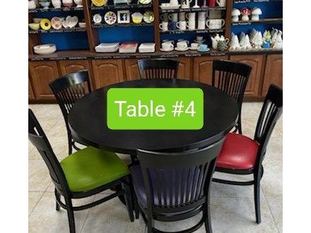 TABLE RESERVATION #4