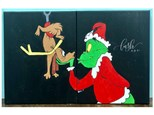 Grinch & Max Inspired Paint Class (Lush Lounge)