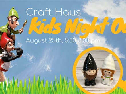 KID'S NIGHT OUT: Sherlock Gnomes!