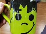 Art Club: Frankenstein Mug