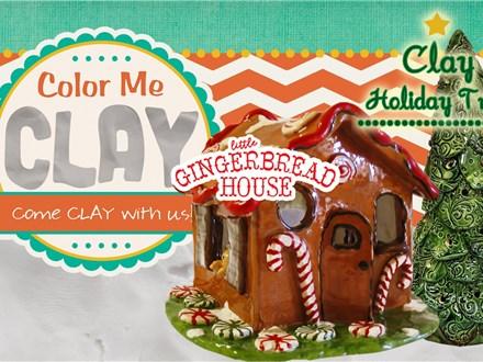 Gingerbread House Workshop - Nov 23, 2019 @ 6:30pm
