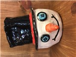 Kid's Clay Handbuilding - Snowman Box - 01.18.17 - Afternoon Session