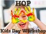 HOP Kids Day Workshop - July 30th - 10am to 3pm