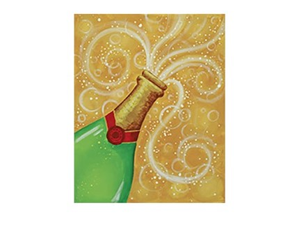 Bubbly - Canvas - Paint and Sip