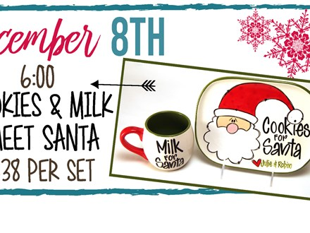 Dec. 8th Cookies and Milk