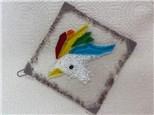 Kids Unicorn Fused Glass Suncatcher - May 21st