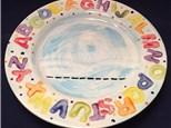 Home School Art Workshop - Hangman Game Plate
