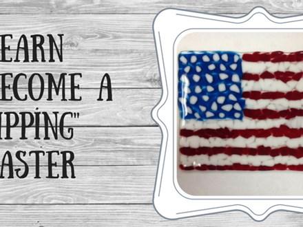 Glass Fusion American Flag
